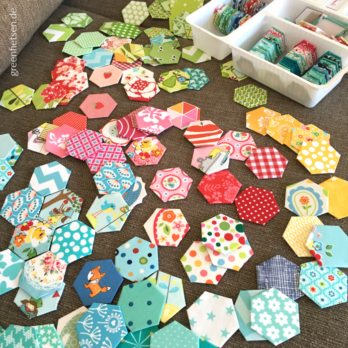 Hexies - English Paper Piecing