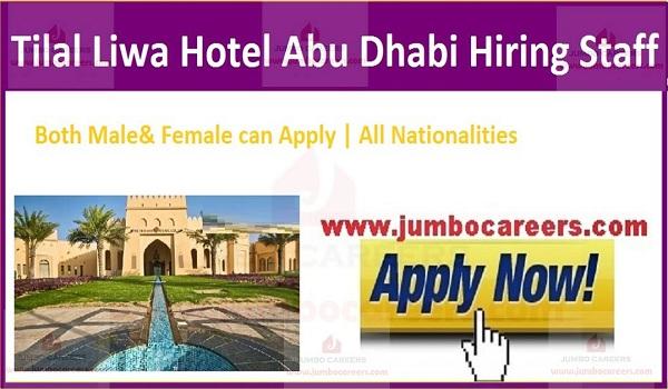 Available hotel jobs in Dubai,