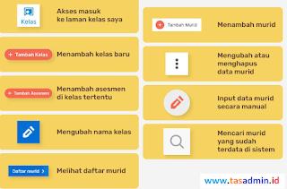 menu laman kelas merdeka mengajar