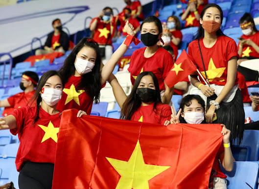 Người hâm mộ Việt Nam tại UAE