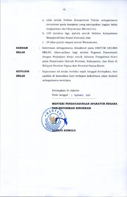 KEPMENPANRB 1127 TAHUN 2021 Halaman 6