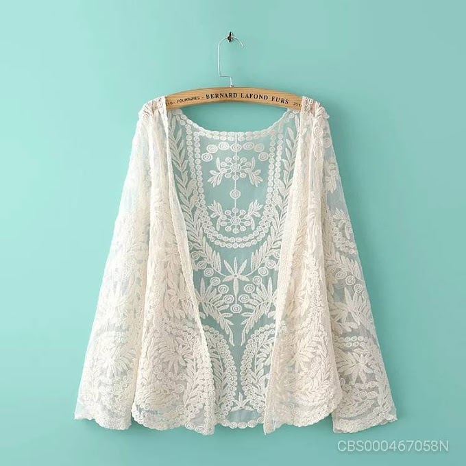 Sleeve Lace Cardigan
