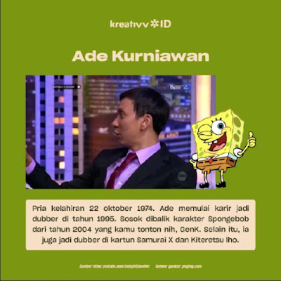 Dubber Legend Indonesia Ade Kurniawan