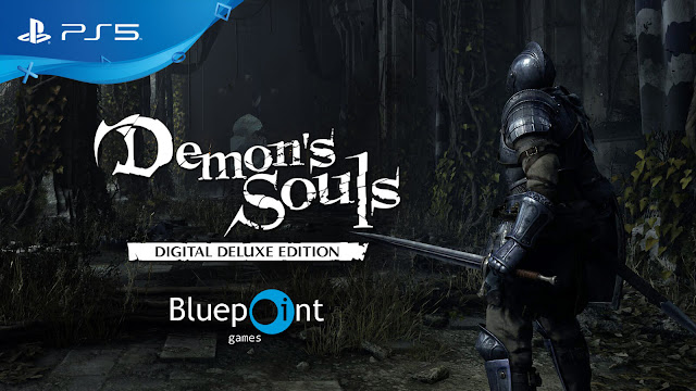 demon's souls remake playstation 5 digital deluxe edition pre order bonus outrage action role-playing game bluepoint games from software sony interactive entertainment