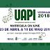 Abertas inscrições para o vestibular da UAPI - Vagas para Baixa Grande do Ribeiro