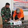 Penutupan TMMD, Bersama Kasrem 141/Tp dan Bupati di Wilayah Kodim 1404/Pinrang