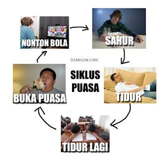 Gambar foto DP Meme lucu Puasa Sahur coc Ramadhan Terbaru Download