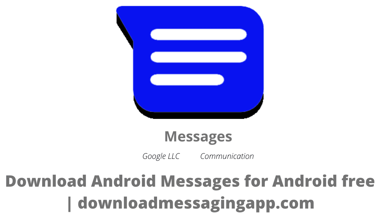 Download Android Messages for Android free | downloadmessagingapp.com
