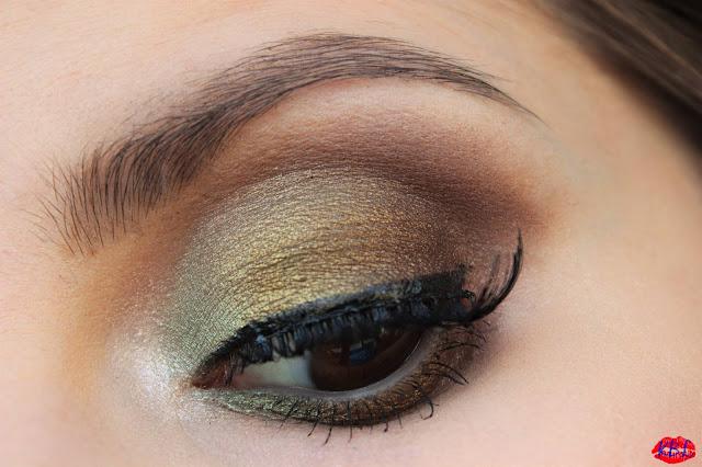 Kates Beautyland Makijaż Z Cieniami Loreal Color Infallible