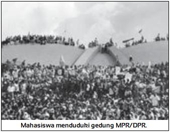 Pendudukan Gedung MPR/DPR