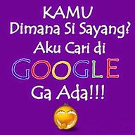 dp bbm kata gombal cari di google