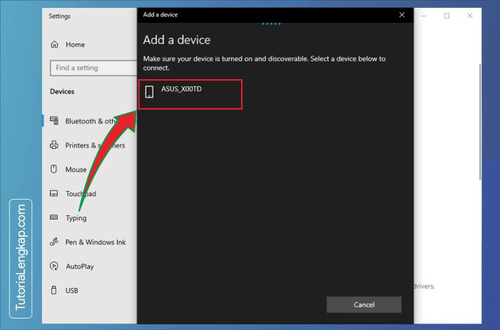 tutorialengkap 4 Cara Menghubungkan Smartphone Sebagai Perangkat Bluetooth Pada Windows 10