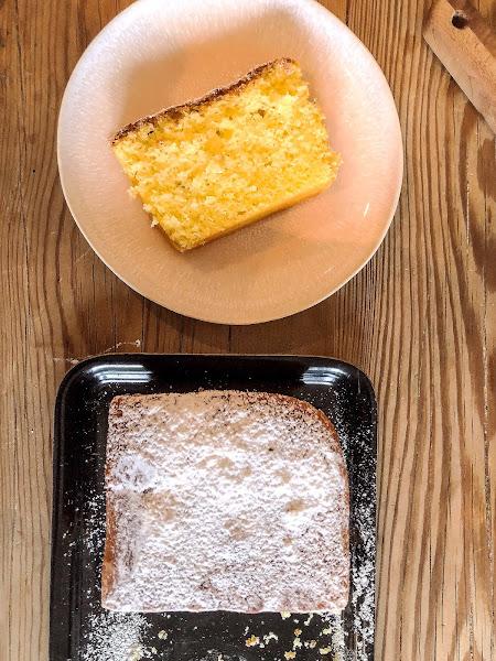 leichtes Rezept für einen fluffigen, saftigen Zitronen-Tonka-Fenchel-Cake #madebylelo hausgemacht von LeLo by machetwas.blogspot.com