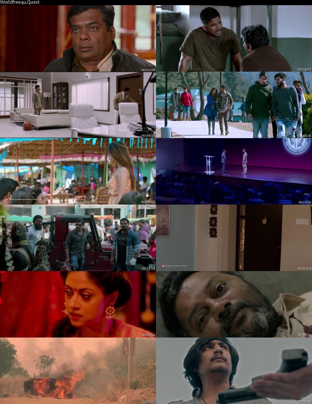 Naa Peru Surya Na Illu India 2018 Hindi Dubbed Movie Download    HDRip 720p