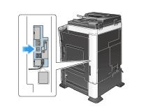 Konica Minolta bizhub C308 driver install intruction: