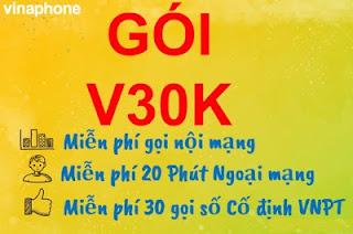 Gói V30K VinaPhone