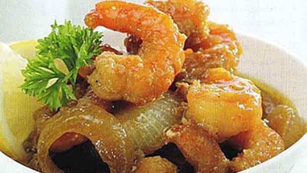 resep-capcay-kuah-dan-udang-saus-mentega-menu-makan-malam