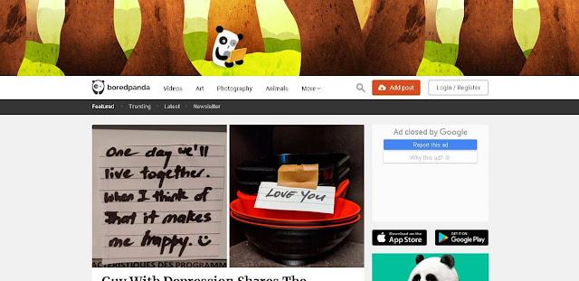 Bored Panda - fun websites