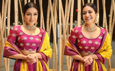 Catherine Tresa At World Famous Lover Telugu Movie Promotion Photos