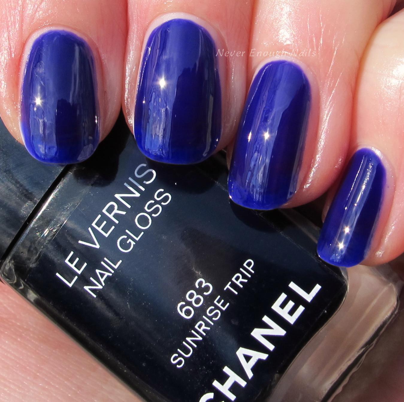Never Enough Nails: Chanel Sunrise Trip