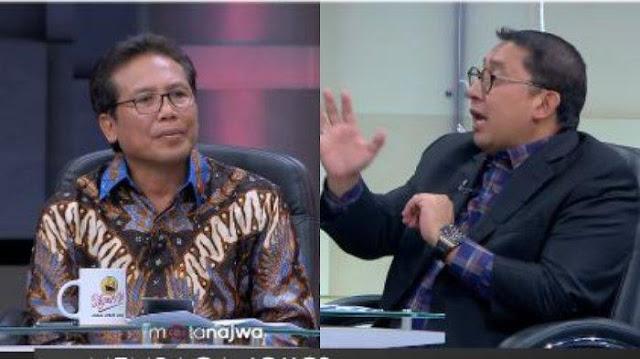 Debat Panas dengan Fadjroel Rachman, Fadli Zon: Inilah Cara Berpikir Oligarki