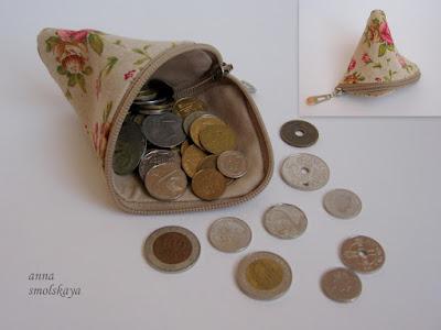 монетница своими руками