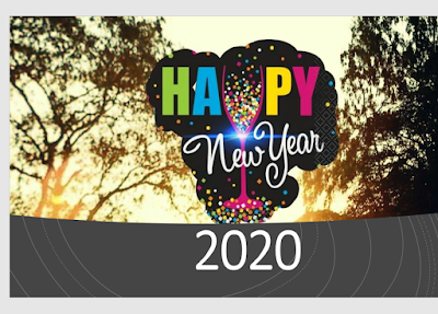 Happy New Year 2020 free download image