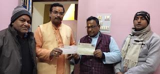 मुंगराबादशाहपुर में श्रीरामजन्म भूमि तीर्थ क्षेत्र समर्पण महाअभियान का हुआ शुभारम्भ   | #NayaSaberaNetwork