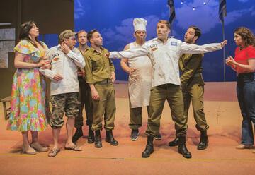 ההצגה גבעת חלפון אינה עונה בתיאטרון הבימה - רכישת כרטיסים ולוח הצגות