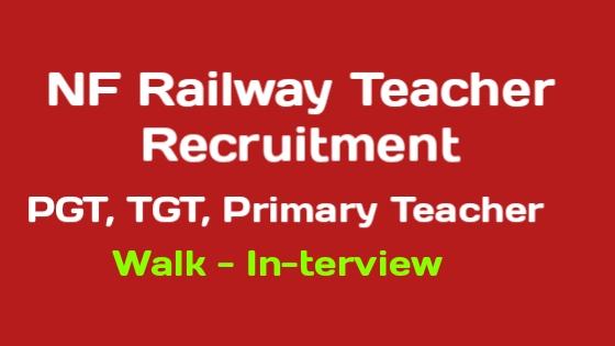 NFR Teacher Recruitment