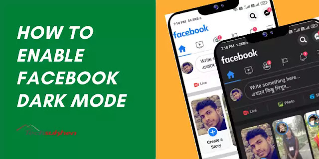How to enable Facebook dark mode on [mobile and desktop]