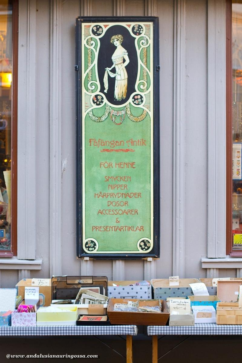Andalusian auringossa_Göteborg_Haga_antiikkikauppa