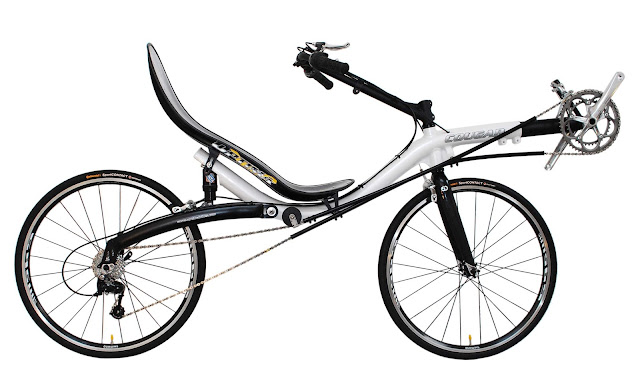 Vélo couché Cougar Optima