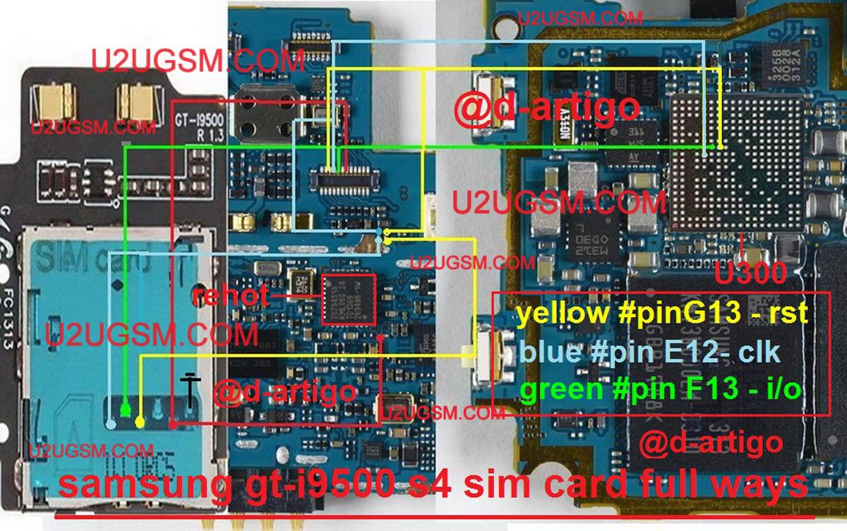 Samsung Galaxy S4 I9500 Insert Sim Jumper Solution Full | gsmfixer