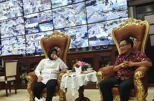 Bitung Belajar 'Online Civil Services' di Surabaya