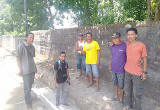 Warga Keluhkan Pembangunan  Drainase di Kloncing