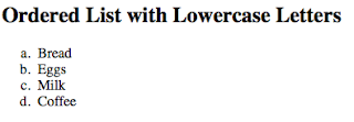 penggunaan ordered list huruf lowercase pada laman html