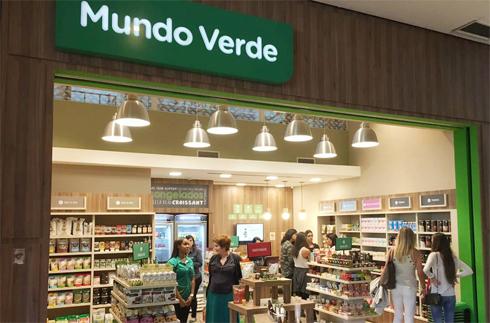 4c58d4499eb Daí para a criação e inauguração da primeira loja Mundo Verde