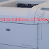 How To Find Ip Address Of Network Printer