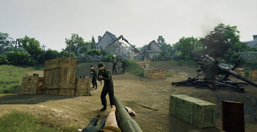 Medal of Honor: Above and Beyond, great quality graphics scene made with Unreal Engine 4