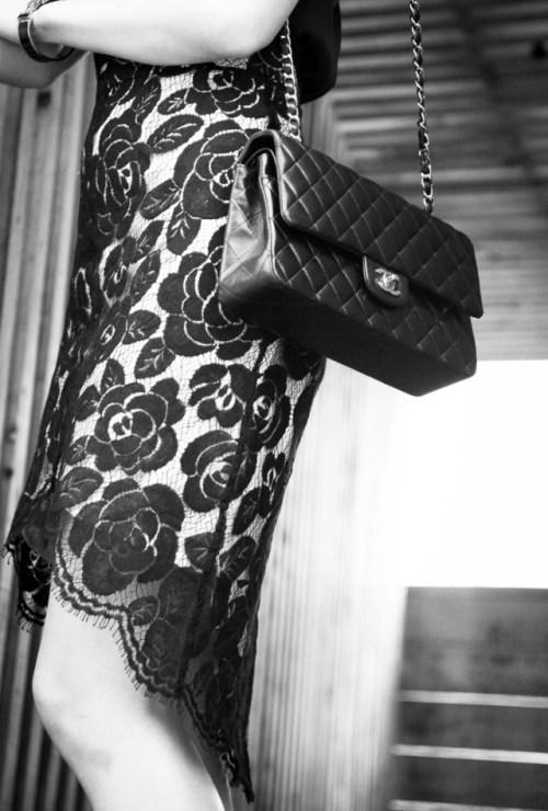 B&W Photography Chanel