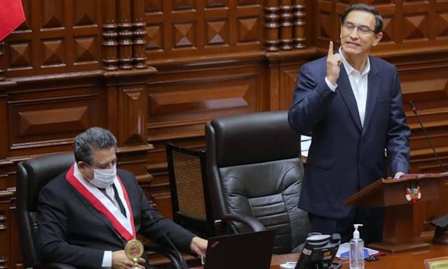 Vacancia de Vizcarra en Congreso
