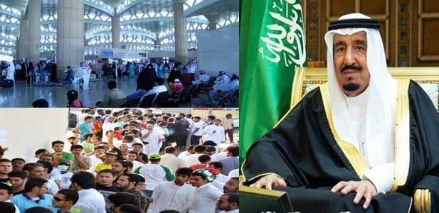 رسوم المرافقين في المملكة العربية السعودية 2020 والفئات المستثناة من العمالة الوافدة