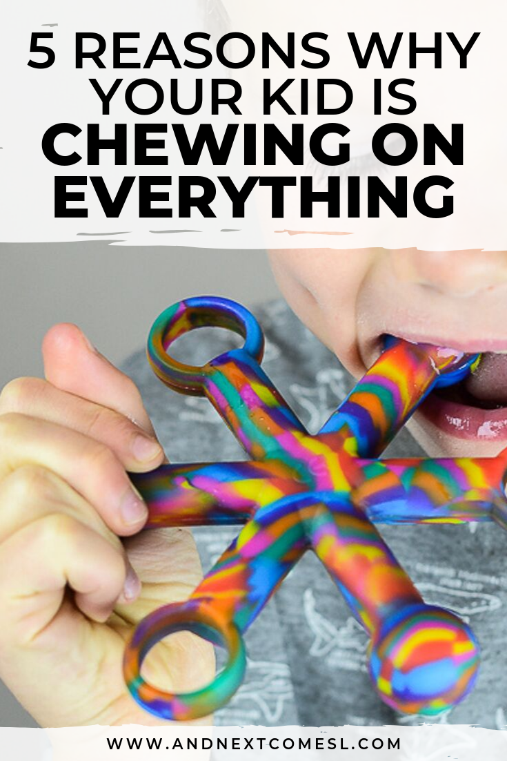 Why do some kids chew on everything? Here's 5 things to know about kids who chew
