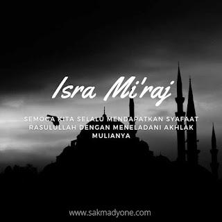 Poster Israk Mikraj 2021
