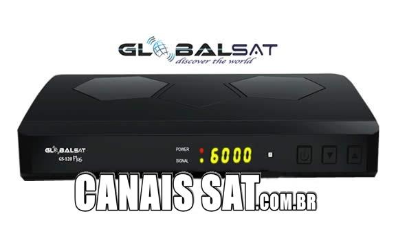Globalsat GS120 Plus Atualização V1.70 - 28/05/2021