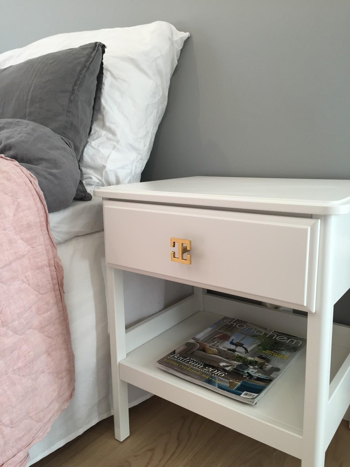 50 nyanser av vitt: sovrum...