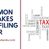 6 Mistakes That You Should Avoid While Filing Income Tax Return