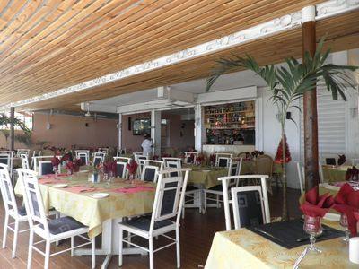 Salle du Restaurant à Flic en Flac Chez Pépé