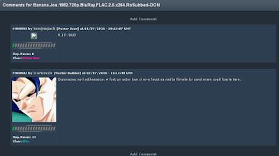 comentarii la Banana Joe pe FileList